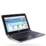 Ноутбук Acer Aspire One D150 Black - Windows