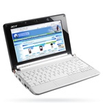 Ноутбук Acer Aspire One D150 White - Windows