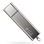 USB флеш-диск - A-Data PD14 Silver Ready Boost - 2Gb