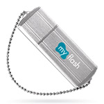 USB флеш-диск - A-Data PD4 Small Silver - 8Gb